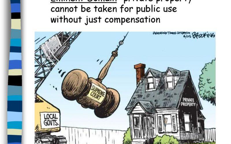 Sfânta proprietate privată